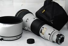 "Nikon AF-S  600mm f/4 II D IF ED ""RARE Light Grey"" ""Excellent++  in Case"" #0354"