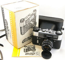 !NEW! *ANNIVERSARY* FED-5C 5 Russian Rangefinder 35mm Camera INDUSTAR-61 LD Lens