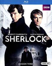 SHERLOCK SEASON 3 New Sealed Blu-ray BBC