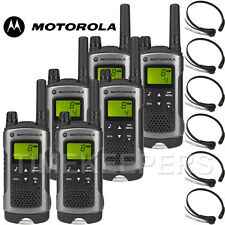 10Km Motorola TLKR T80 Walkie Talkie Two Way Radio Skiing & Go Karting Six Pack