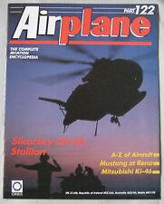 Airplane Issue 122 Sikorsky CH-53 Stallion, Mitsubishi Ki-46  'Dinah' cutaway