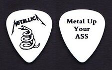 Metallica Metal Up Your @ss Promo White Guitar Pick #2