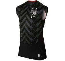 Nike Mens Pro Combat Hypercool 2.0 Compression Football Sleeveless Shirt L $50