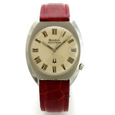 Vintage 13-Jewel Bulova Accutron Electric Model 218-1 Wrist Watch CA1974
