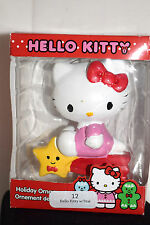 New Christmas Ornament-Cake Topper, Hello Kitty with Star Adorable LOOK