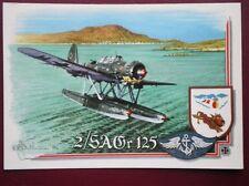 POSTCARD WWII ARADO AR 196A-3 OF 2/SAGR 125  WARPLANES OF WWII