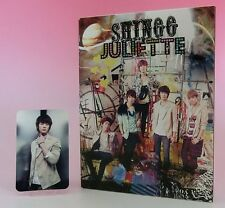 SHINee JULIETTE CD+DVD+Photobook Limited Edition Type-B Photo card Minho