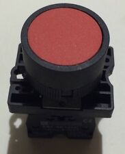 22mm MOMENTARY pushbutton Switch RED 10A NC Contact 600v Max