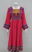 Vintage Reproduction Kuchi Afghan Women Dress Shirt Tribal Ethnic Costume KD-302