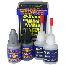Q BOND ULTRA STRONG ADHEISIVE GLUE + FILLER KIT QBOND Q-BOND