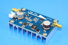 10MHz-500MHZ  1.5W HF FM VHF UHF RF Power Amplifier for ham radio with Heatsink