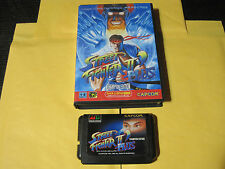 Street Fighter 2 II Plus (Sega Mega Drive, 1993) Genesis Japan Import Boxed
