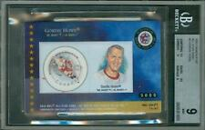 2000 Canada Post All Star Game Gordie Howe #2 BGS 9 Sub 10 POP 1 HOF