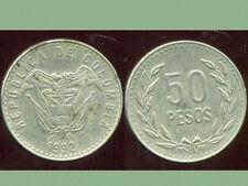 COLOMBIE 50 pesos 1992