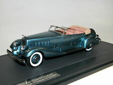 Matrix, 1933 Chrysler Imperial Custom Five-Passenger Phaeton, blau metallic,1/43