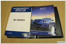 BA Ford Falcon Ute XR Service & Owners Manual 2002 2003 2004 2005 Handbook Book