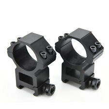 Dovetail Weaver High 20mm Mount Dia 30mm Ring Picatinny Mount Scope Rifle US01