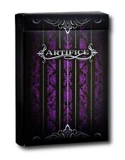 Purple Artifice Premium Ellusionist Deck Bicycle Playing Cards Magic Tricks New