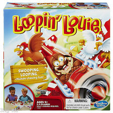 Loopin Louie Classic Family Children Chicken Chasin Fun Game Age 4+ New Boxed