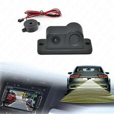 2in1 Radar Sensor Wide Angle Car Visual Reverse Backup Parking Camera For Honda