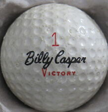 (1) BILLY CASPER VICTORY SIGNATURE LOGO GOLF BALL (CIR 1970) #1