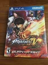 The King Of Fighters XIV: Burn To fight Premium Edition -- Brand New