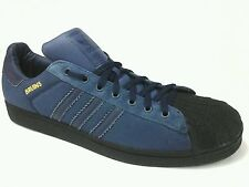 ADIDAS UCLA Bruins Gameday Superstar Sneakers Shoes Blue Shell Toe Mens US 15 M