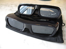 (2x) Pair of Sony TDG-BR250 Active 3D Glasses for 3D TV (Factory Recertified)