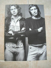 Rolling Stones Charlie Watts Mick Taylor Vtg Candid Coffee Table Book Photo #7