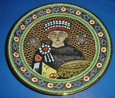 DERUTA ORO Prag Byzantine Mosaic GIALLETTI Giulio Byzantino imperatore Giustiniano