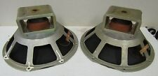"Pair Vintage Pioneer CS88 Woofer  12"" Speakers 8 ohm"