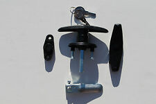 Truck cap,topper,shell,camper T-handle Bauer lock with accessories CCW to open