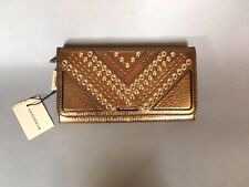 Authentic Burberry Designer Large Fold Wallet Clutch Billfold