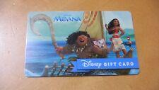 Disney Magic Kingdom Moana Gift Card.  No Value