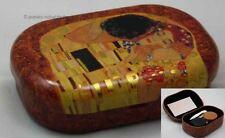 Contenitore lenti a contatto/lente a contatto lattina di conservazione GUSTAV KLIMT IL BACIO