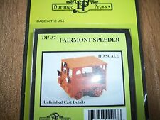 Durango Press HO Scale Fairmont Speeder MT-14 (Early) Kit DP-38 Bob The Train Gu