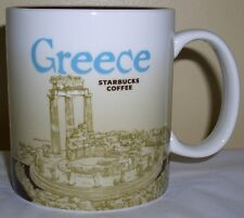 Starbucks Global Icon Collector Series Mug GREECE,  New Un-Used , MIC