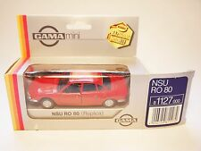 NSU Ro 80 Ro80 (Serie 1) in rot rouge rosso roja red, GAMA Replica 1:43 boxed!