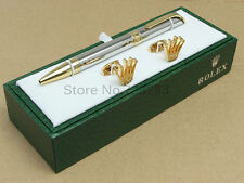 Rolex pen Classical Version gift set hold pen &cufflinks