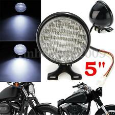 """Universal Motorcycle 5"""" 30 Led Round Headlight High Low Beam Light For Harley"""