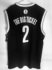 Adidas NBA Jersey Nets Kevin Garnett Black Nickname sz 2X