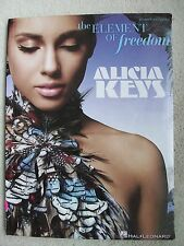 Alicia Keys Element of Freedom Songs Voice Piano Guitar Unmarked