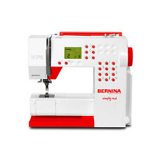 "Bernina 215 Special Edition ""Simply Red"" - inkl. Freiarm-Anschiebetisch   #14321"