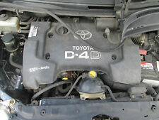 2006 TOYOTA COROLLA VERSO 2.0 D4D ENGINE COMPLETE WITH INJECTORS AND PUMP