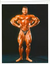 bodybuilder DORIAN YATES.. 6x Mr Olympia Bodybuilding Color Muscle Photo
