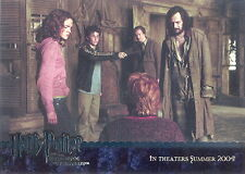HARRY POTTER AND THE PRISONER OF AZKABAN 2004 ARTBOX SILVER FOIL PROMO CARD 02