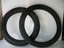 New Yamaha DTR125 Front & Rear Road legal Tyres 2.75-21 & 4.10 18 DT DT125 dtr