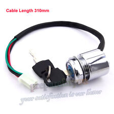 4 Wire ATV Ignition Key Switch For Chinese Scooter 4 Wheeler Go Kart Dirt Bike