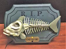 Big Mouth Billy Bones Singing Skeleton Bass Fish Glow In The Dark R.I.P.