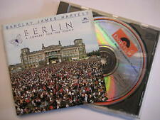 """BARCLAY JAMES HARVEST """"BERLIN A CONCERT FOR THE PEOPLE"""" - CD"""